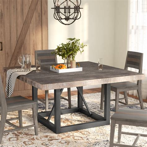 Wood-And-Metal-Farmhouse-Dining-Table