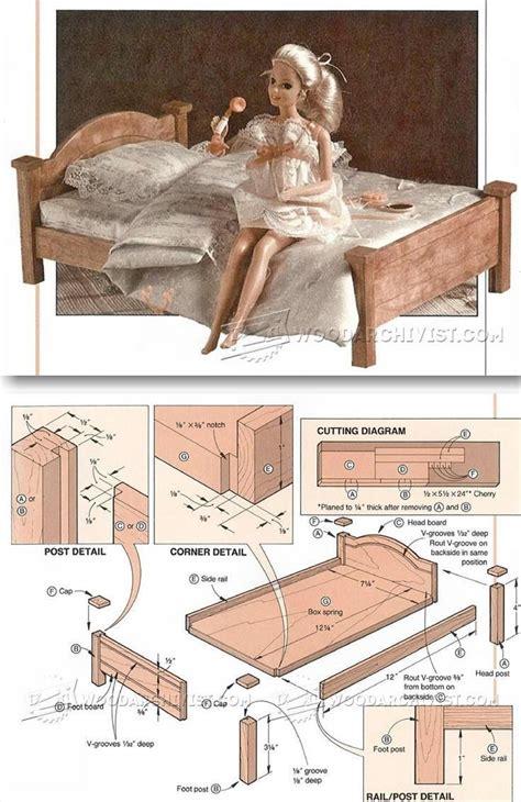 Wood-Barbie-Bed-Plans-Pinterest