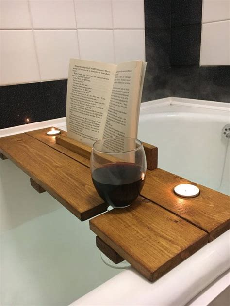 Wood-Bath-Book-Rest-With-Wine-Cup-Holder-Plans