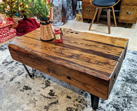 Wood-Beam-Offee-Table-Diy