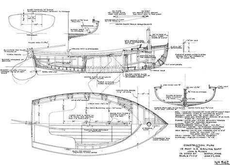 Wood-Boat-Dinghy-Plans