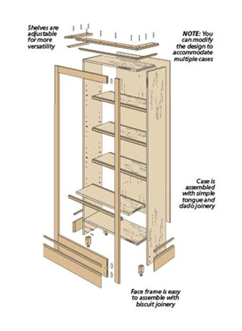 Wood-Bookcase-Plans