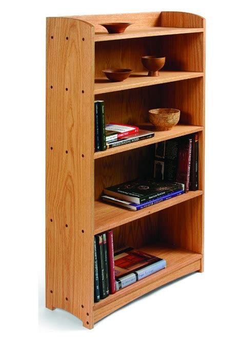 Wood-Bookcase-Plans-Free