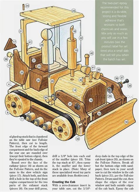 Wood-Bull-Dozer-Plans