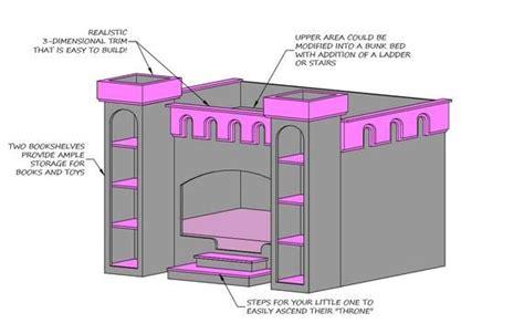 Wood-Castle-Bed-Plans