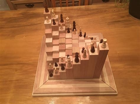 Wood-Chess-Board-Projects