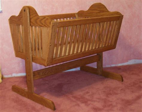 Wood-Cradle-Bassinet-Plans