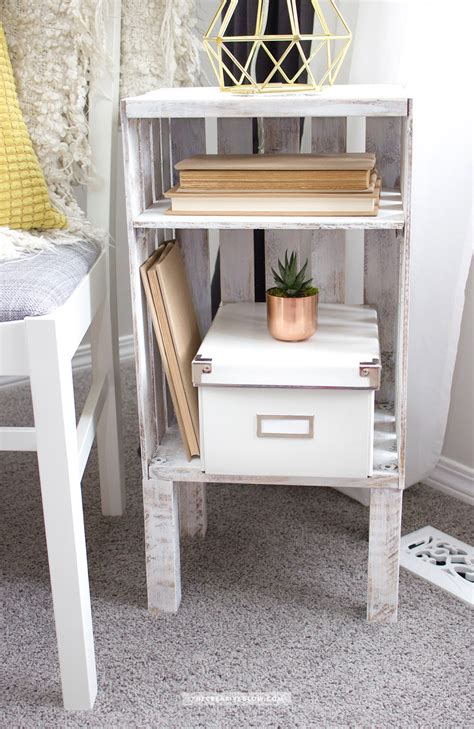 Wood-Crate-Side-Table-Diy