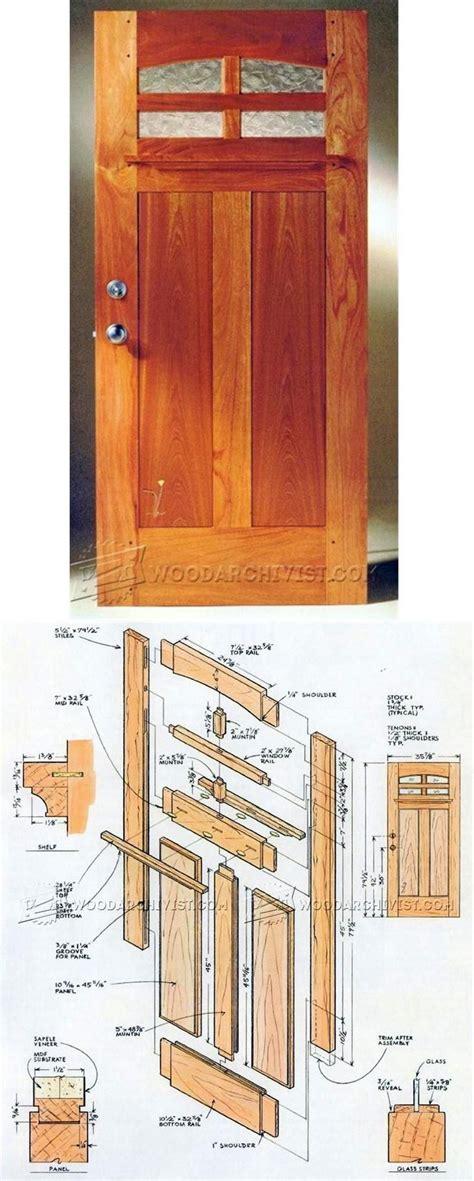 Wood-Door-Construction-Plans