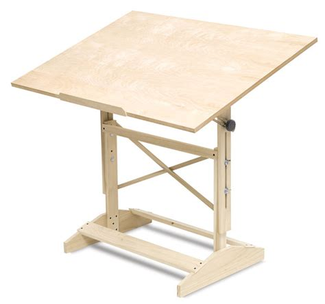 Wood-Drafting-Table-Plans