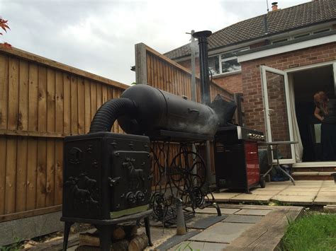 Wood-Fired-Bbq-Smoker-Plans