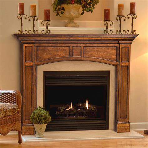 Wood-Fireplace-Mantel-Surround-Plans