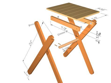 Wood-Folding-Table-Legs-Plans