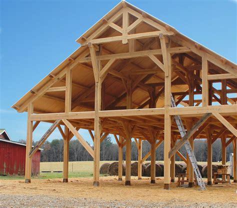 Wood-Frame-Pole-Barn-Plans