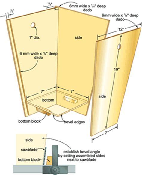 Wood-Garbage-Bin-Plans