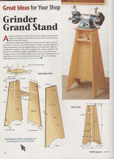 Wood-Grinder-Stand-Plans