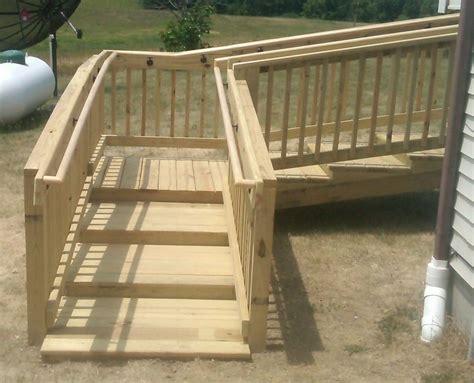 Wood-Handicap-Stairs-Plans