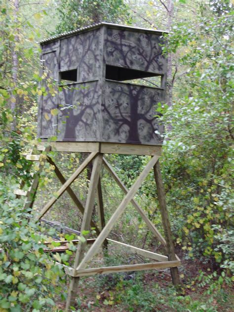 Wood-Hunting-Stand-Plans