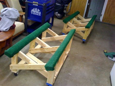 Wood-Jet-Ski-Stand-Plans