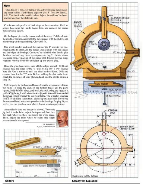 Wood-Lathe-Steady-Rest-Plans