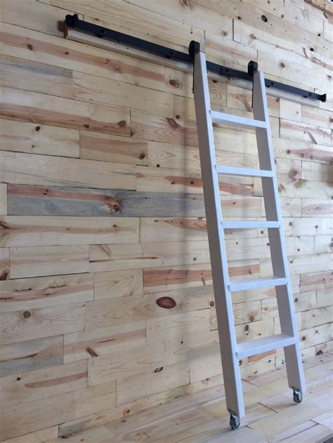 Wood-Library-Ladder-Plans