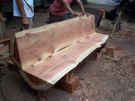 Wood-Log-Bench-Plans