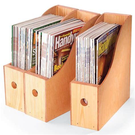 Wood-Magazine-Organizer-Plans