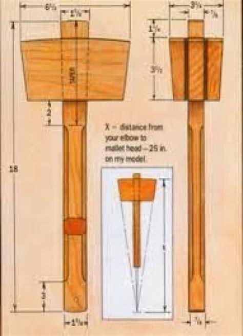 Wood-Mallet-Plans