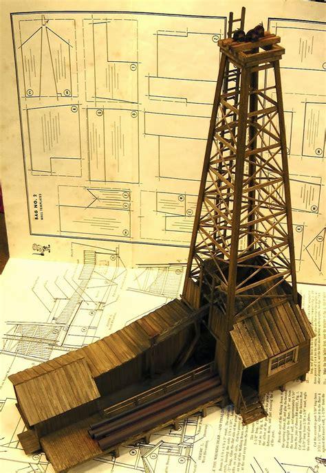 Wood-Oil-Derrick-Plans