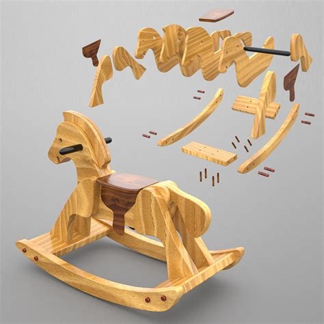 Wood-Plans-For-Rocking-Horse