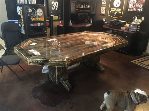 Wood-Poker-Table-Projects