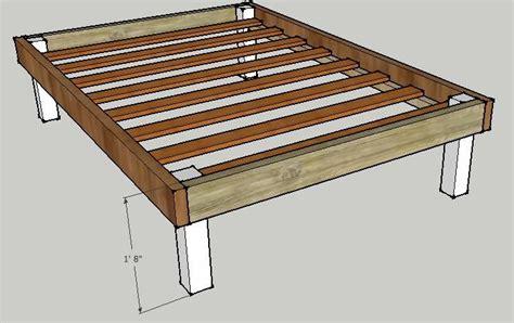 Wood-Queen-Platform-Bed-Frame-Plans