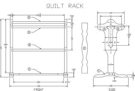 Wood-Quilt-Rack-Plans