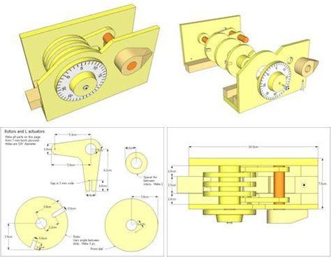 Wood-Safe-Combination-Lock-Plans-Download