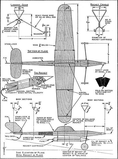 Wood-Sailplane-Plans