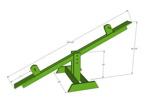 Wood-Seesaw-Plans