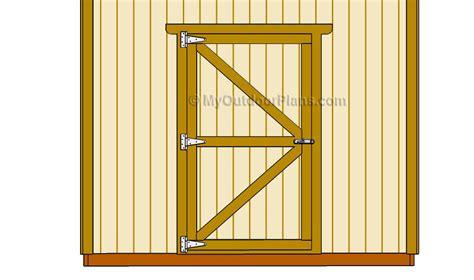 Wood-Shed-Door-Plans
