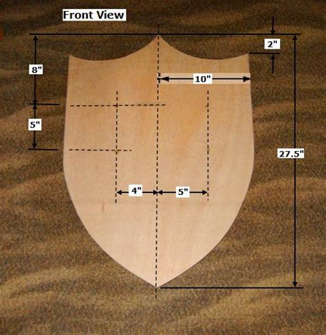 Wood-Shield-Plans