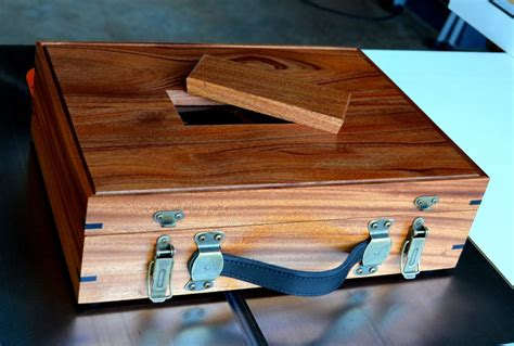 Wood-Shoe-Shine-Box-Plans