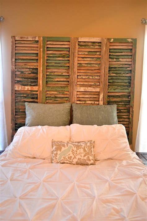 Wood-Shutter-Headboard-Diy