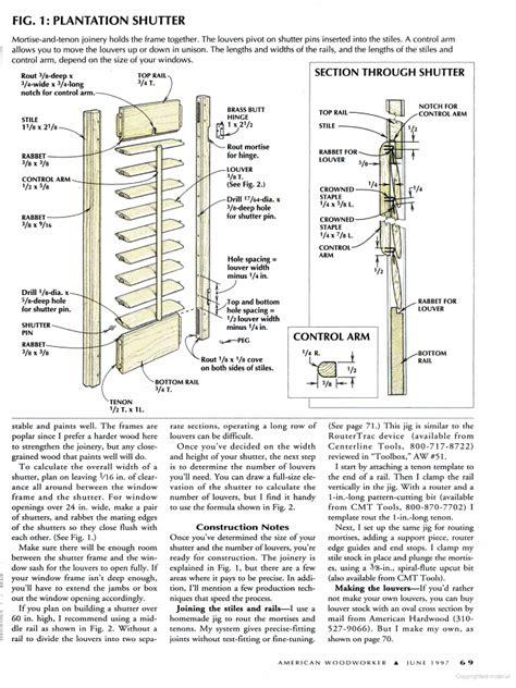 Wood-Shutter-Plans