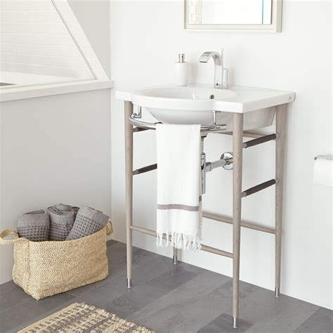 Wood-Sink-Console