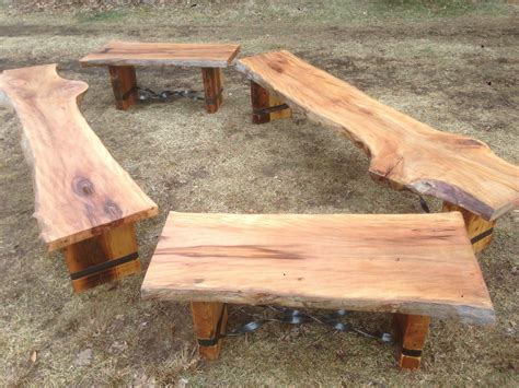 Wood-Slab-Bench-Plans