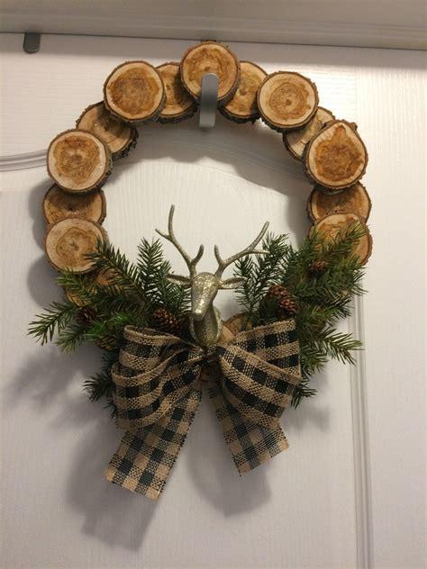 Wood-Slice-Wreath-Diy