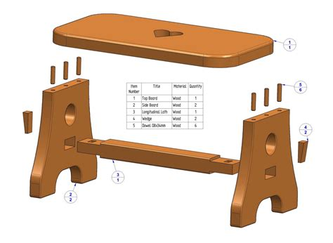 Wood-Stool-Project-Plans