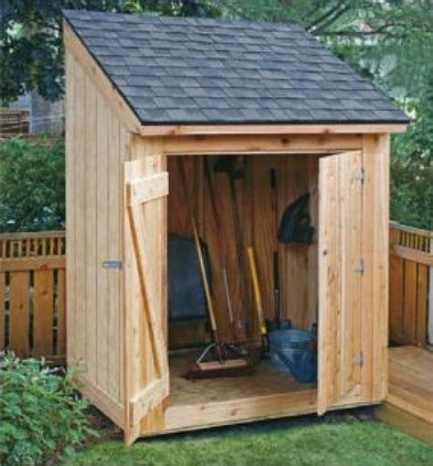 Wood-Storage-Lean-To-Shed-Plans