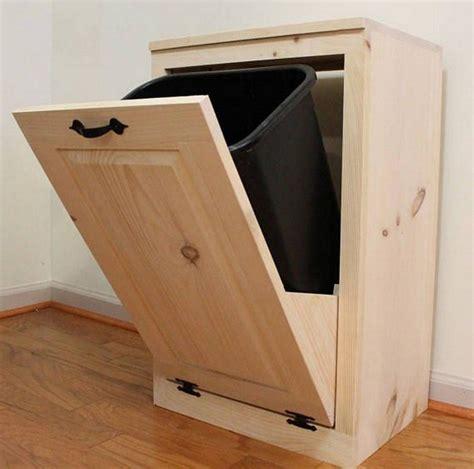 Wood-Tilt-Out-Trash-Cabinet-Plans