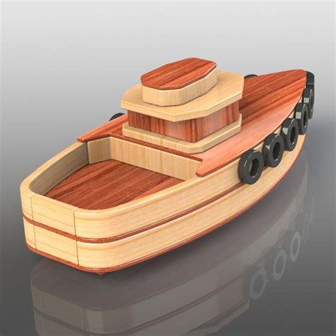 Wood-Toy-Plans-Stojanovic-Fishing-Boat