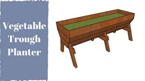 Wood-Trough-Planter-Plans