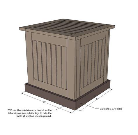 Wood-Umbrella-Stand-Plans